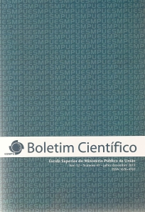 Boletim Científico ESMPU0003
