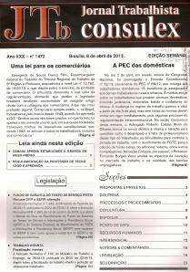 JTb nºs 1472, 1473 e 14740001