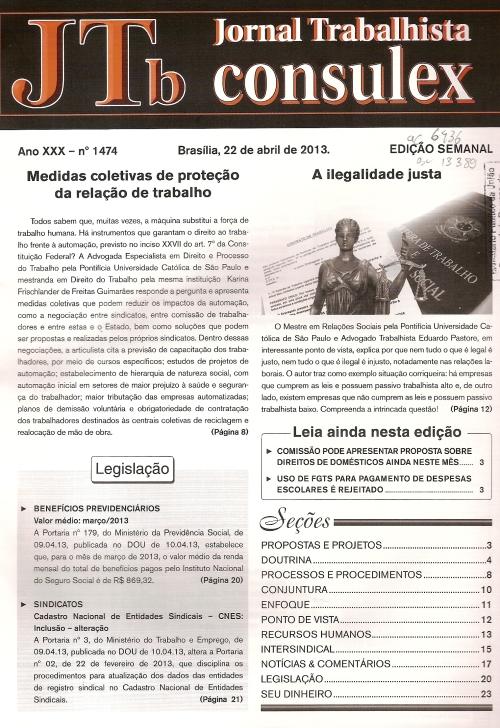 JTb nºs 1472, 1473 e 14740005
