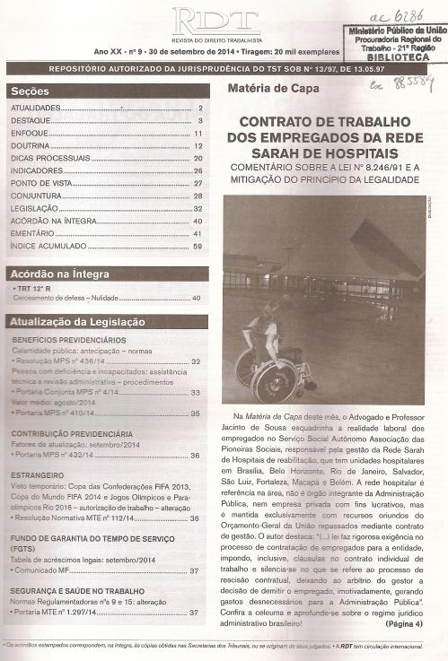 RDT nº 090002