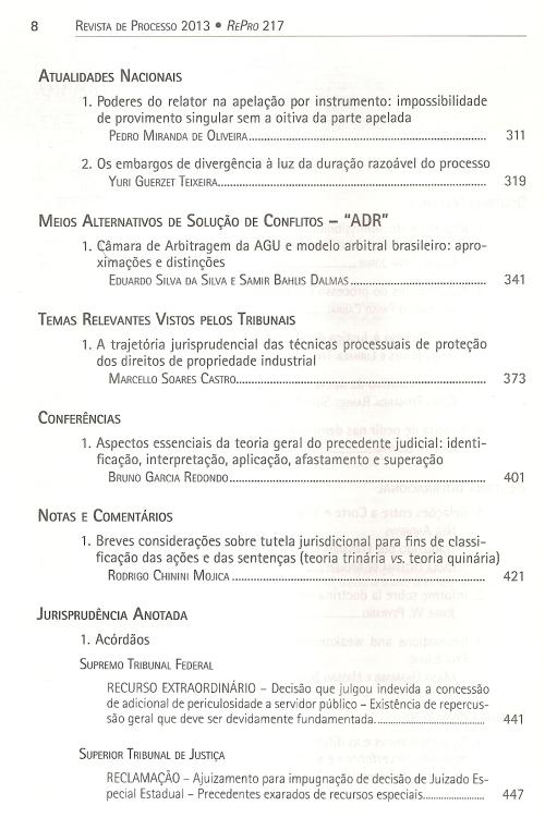 Revista de Processo 2170002