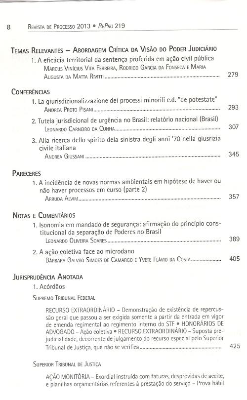 Revista de Processo 2190002