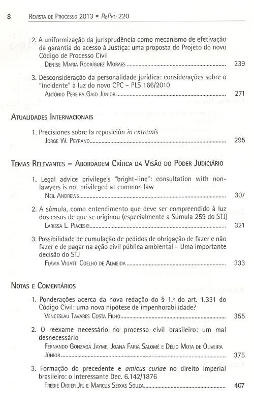 Revista de Processo 2200003