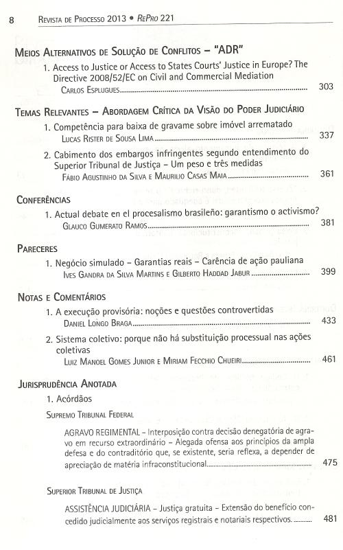 Revista de Processo 2210002