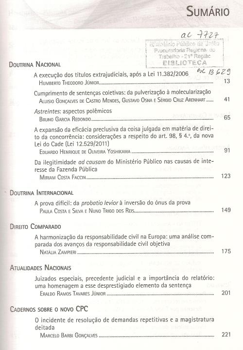 Revista de Processo 2220001