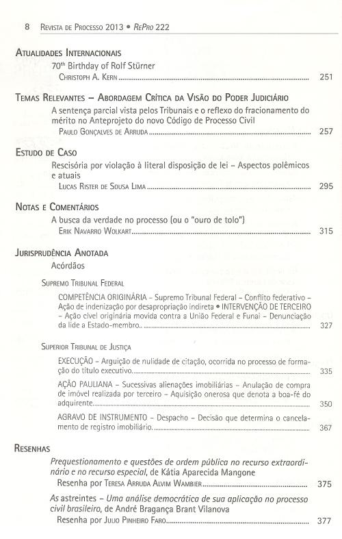 Revista de Processo 2220002