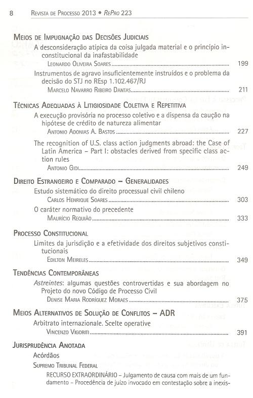 Revista de Processo 2230003