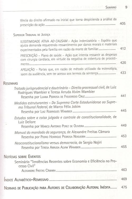 Revista de Processo 2230004