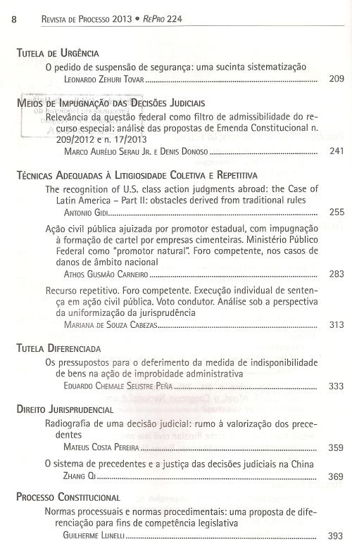 Revista de Processo 2240003