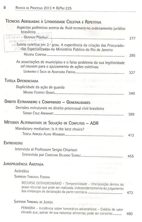 Revista de Processo 2250003