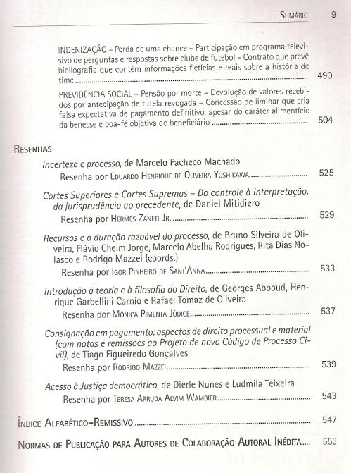 Revista de Processo 2250004
