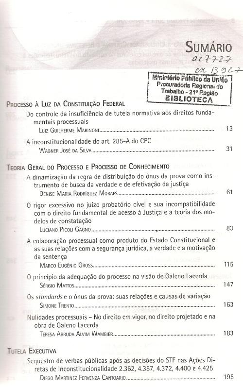 Revista de Processo 2260002