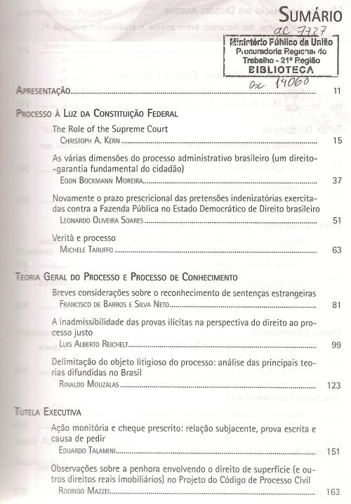 Revista de Processo 2280002