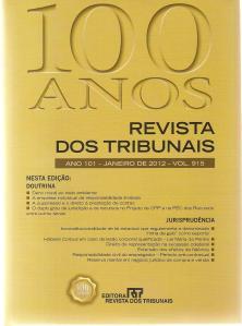 Revista dos Tribunais n. 915 - jan.2012 - capa