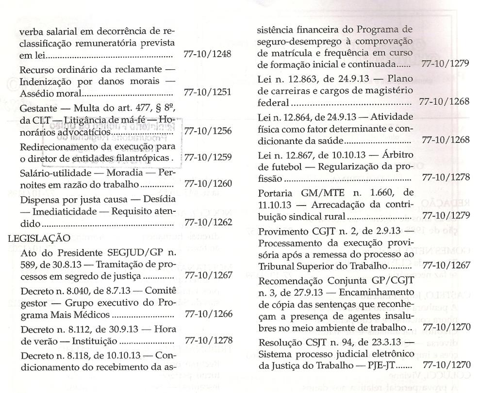 Revista LTr 10.20130003