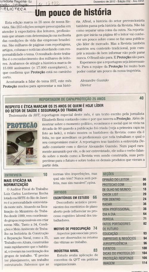 Revista Proteção nº 2520002