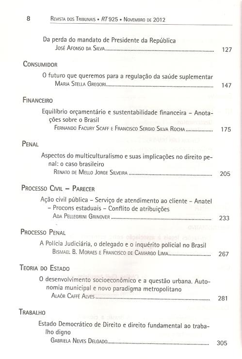 Revista dos Tribunais 9250002