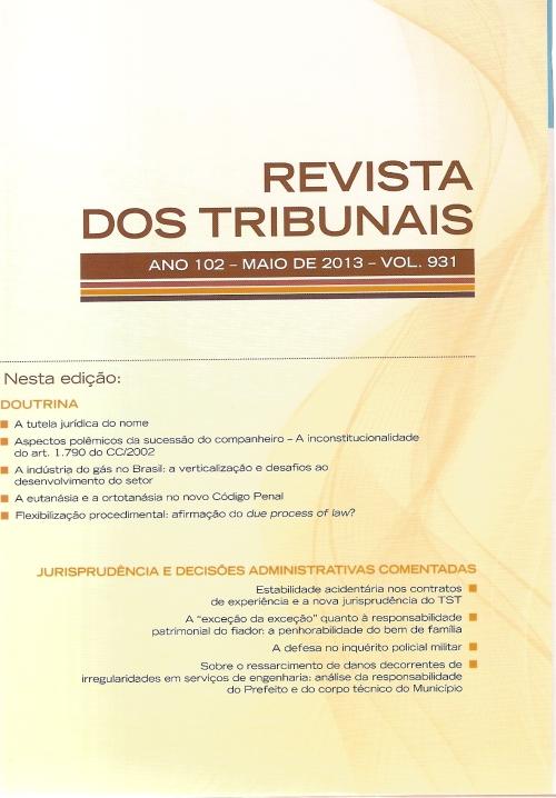 Revista dos Tribunais 9310001