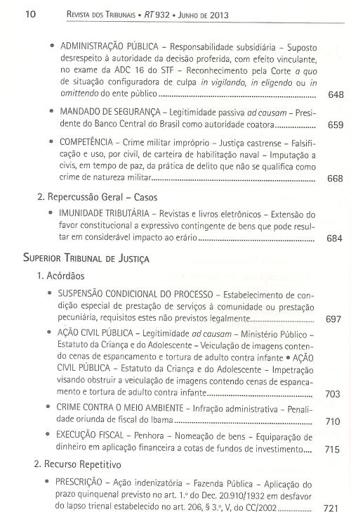 Revista dos Tribunais 9320005