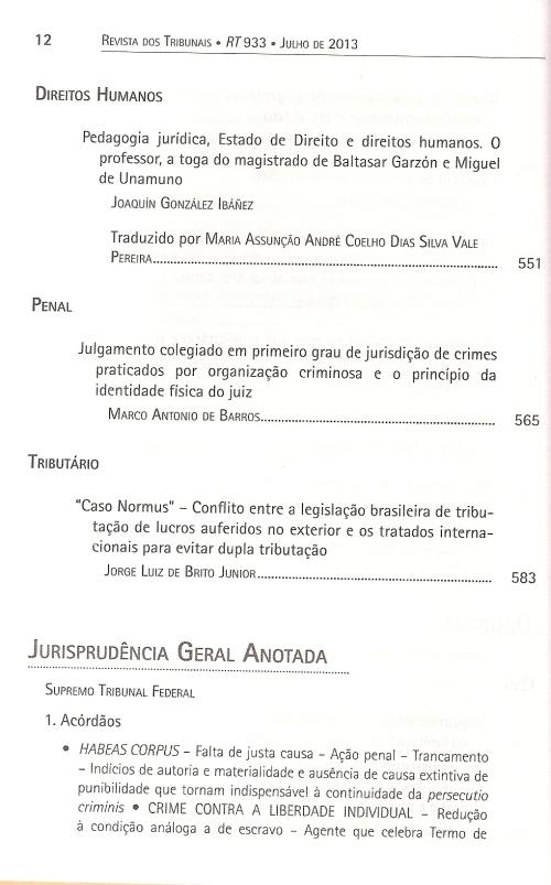 Revista dos Tribunais 9330006
