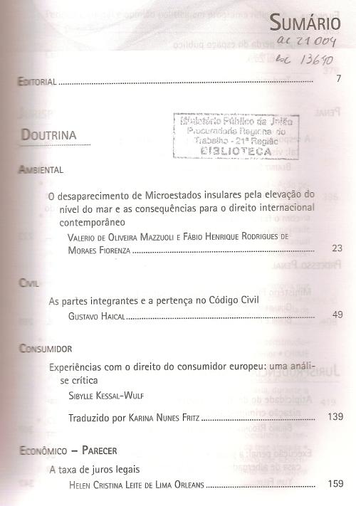 Revista dos Tribunais 9340001