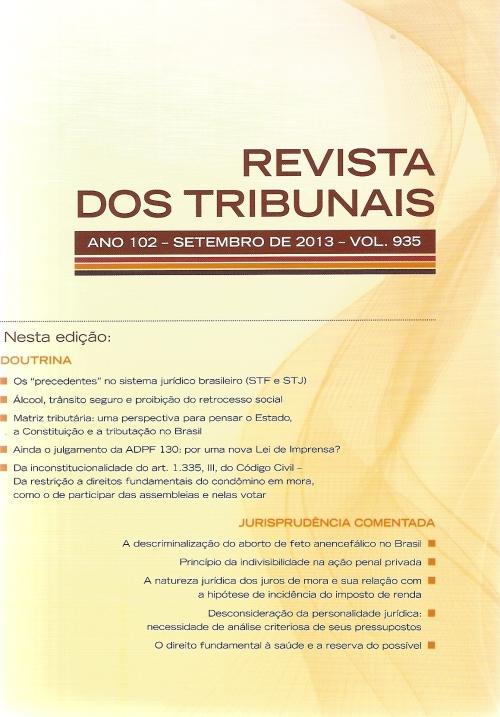 Revista dos Tribunais 9350001