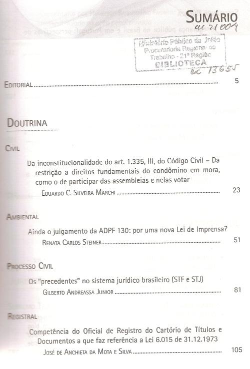 Revista dos Tribunais 9350002