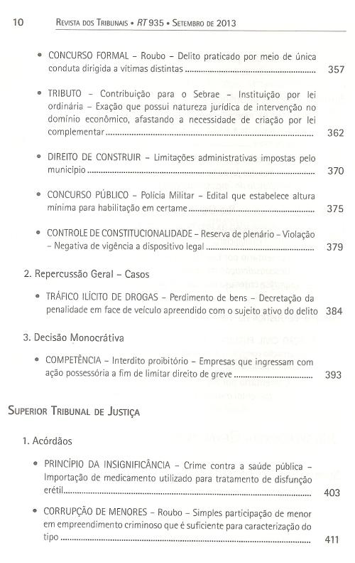 Revista dos Tribunais 9350005