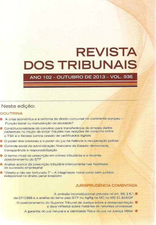 Revista dos Tribunais 9360001