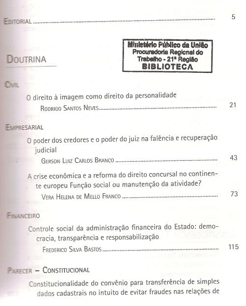 Revista dos Tribunais 9360002