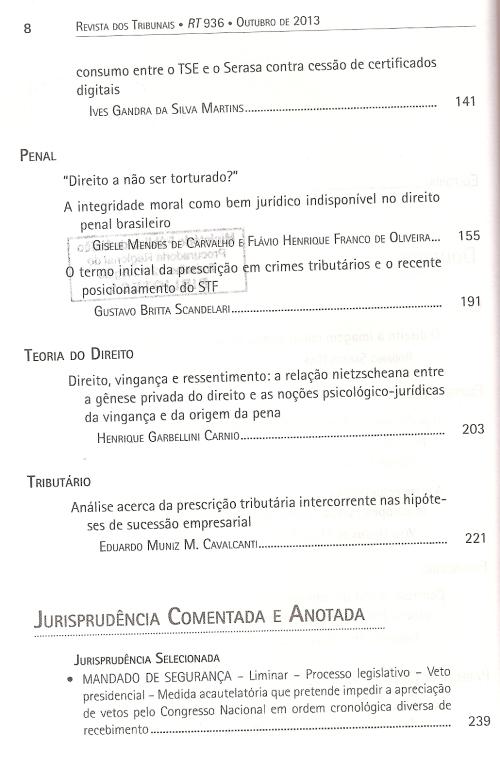 Revista dos Tribunais 9360003