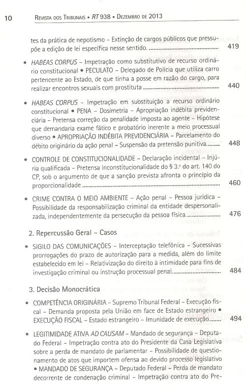 Revista dos Tribunais 9380005