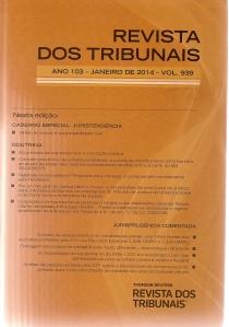 Revista dos Tribunais 9390001