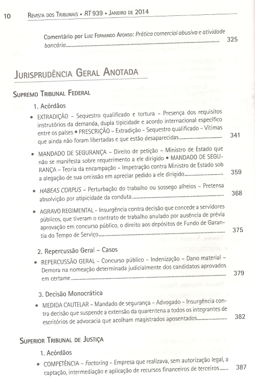 Revista dos Tribunais 9390005