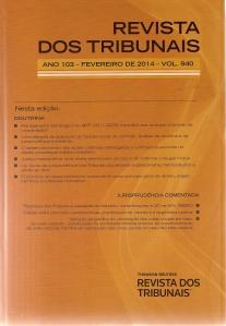 Revista dos Tribunais 9400001