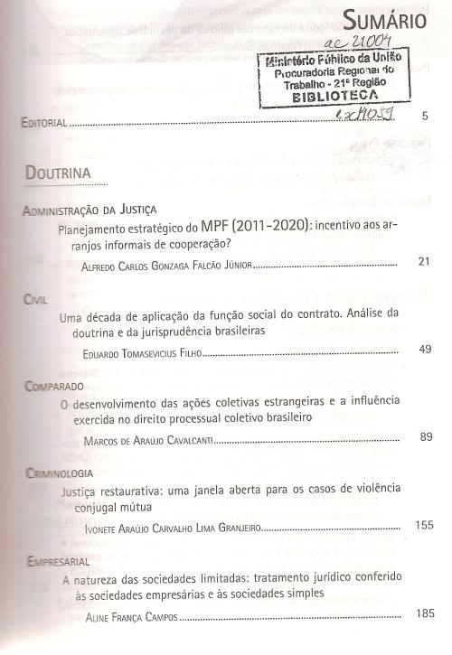 Revista dos Tribunais 9400002