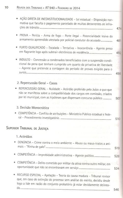 Revista dos Tribunais 9400005