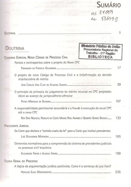 Revista dos Tribunais 9500002