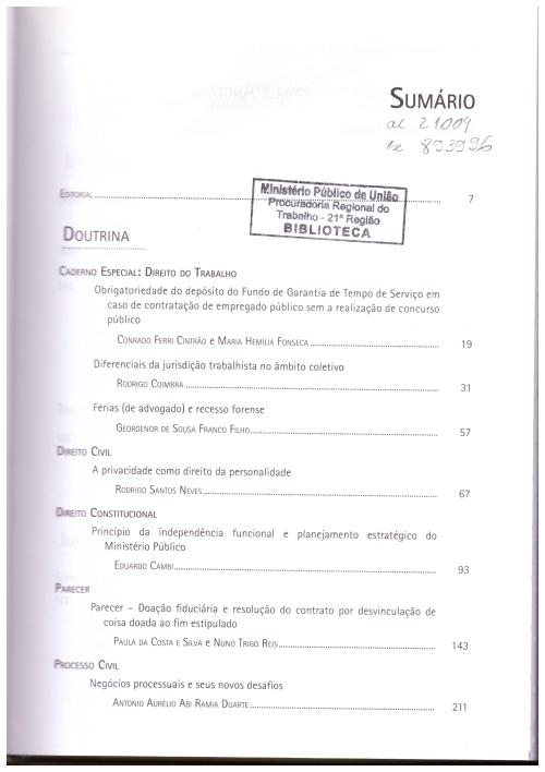 Revista dos Tribunais 955_001