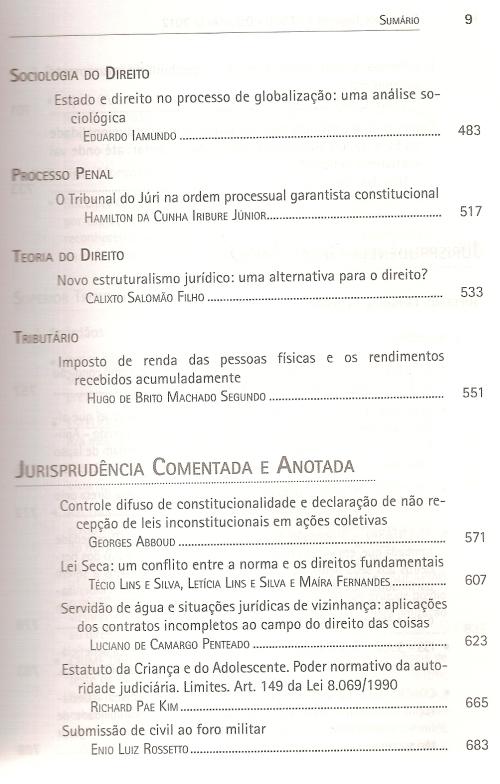 Revista dos Tribunais nº 9260003