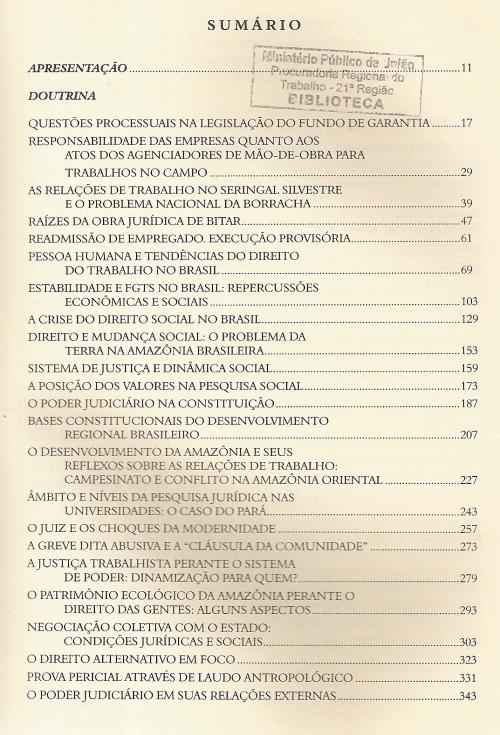 Revista do TRT da 8ª Região0002