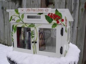 casinhas bibliotecas