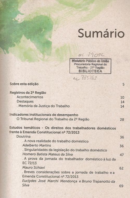 Revista do TRT2 nº 140002