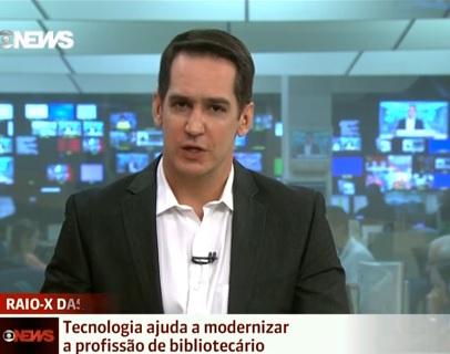 Globo news - bibliotecário