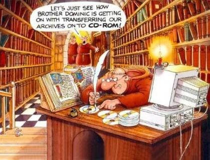 humor bibliotecário