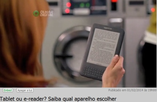 tablet X e-reader