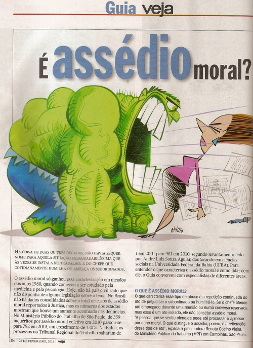 Revista Veja - Assédio Moral0002
