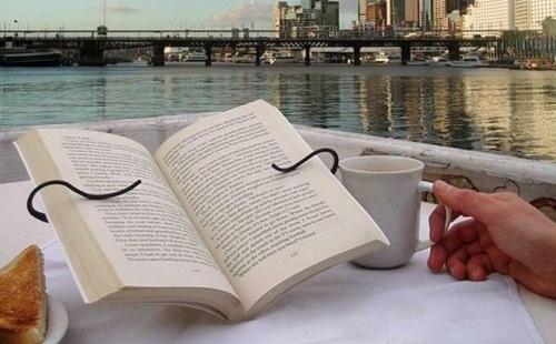 segurador de livro
