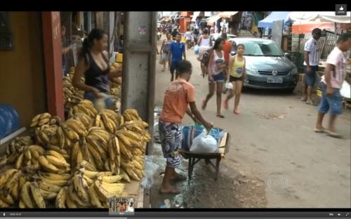 trabalho infantil na feira