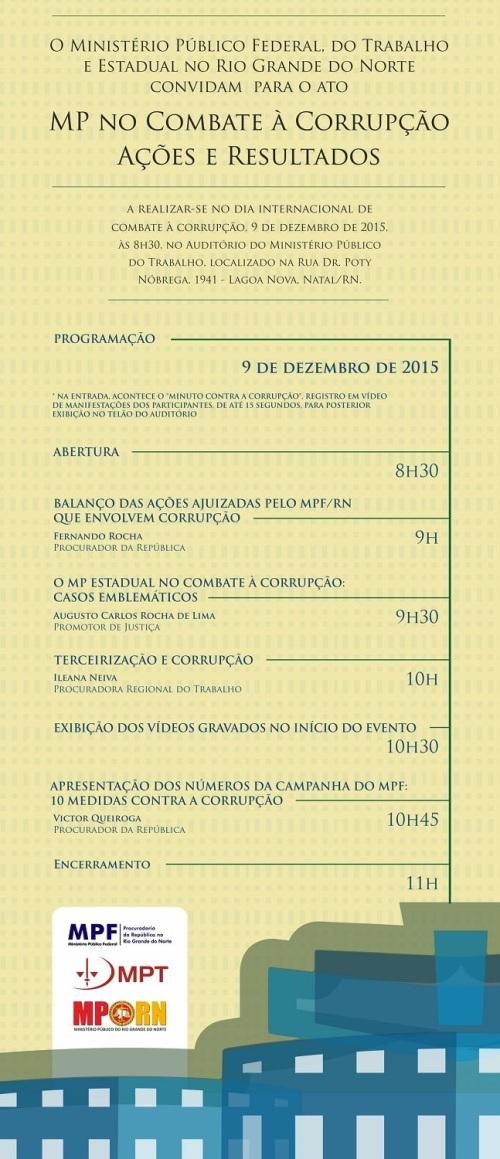 convite mp no combate à corrupção